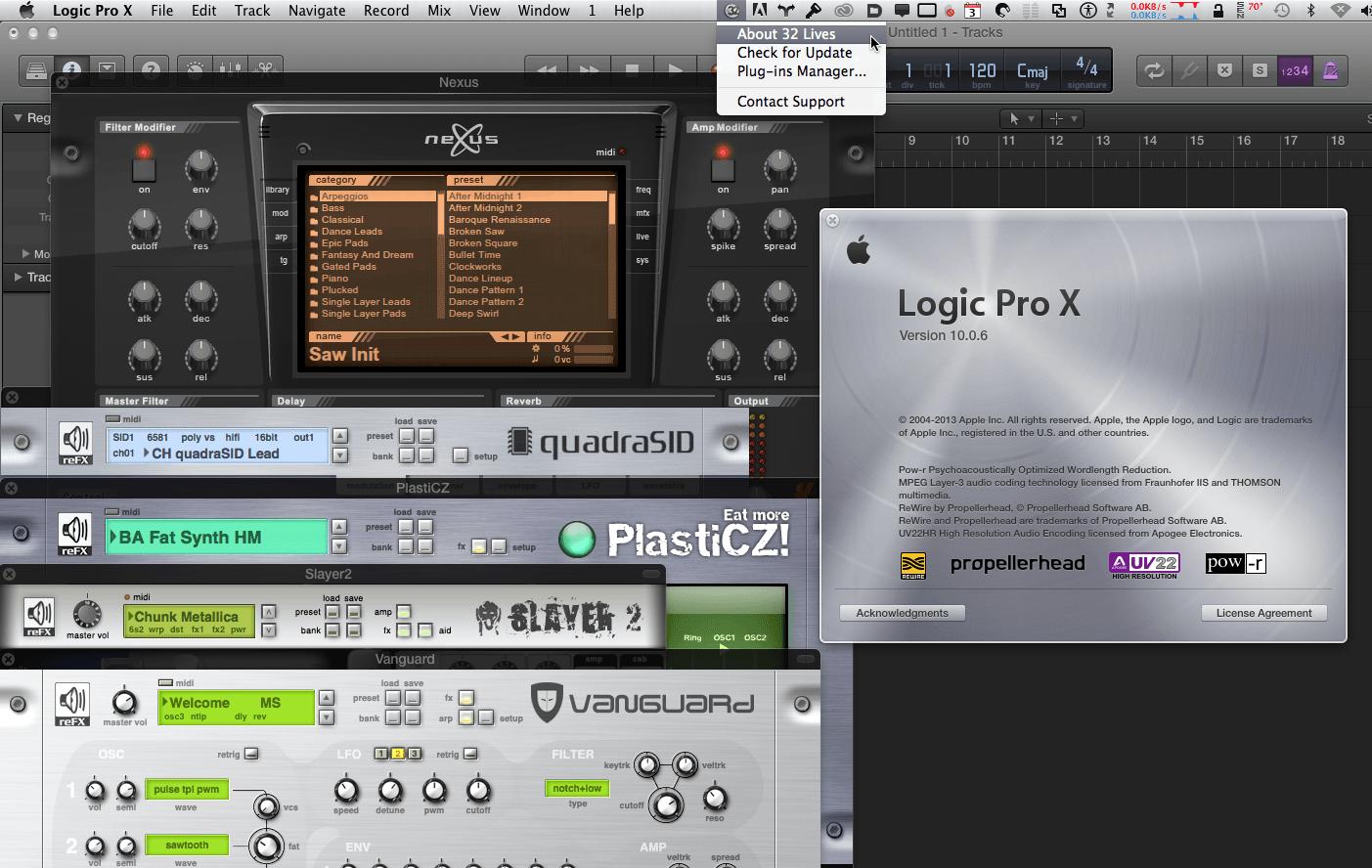 Q09 Работа с 32-битными плагинами в Logic Pro X | Logic Pro X